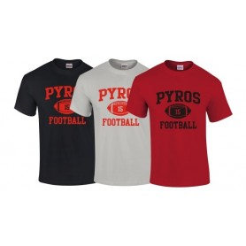 UWS Pyros - Custom Ball Logo T Shirt 1