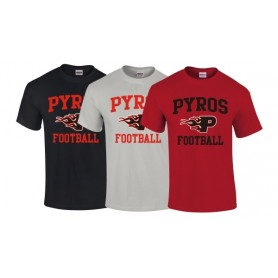 UWS Pyros - Pyros Football Logo T Shirt