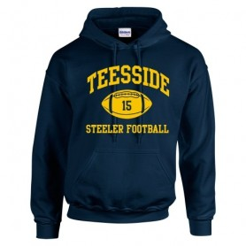 Teeside Steelers - Custom Ball Logo Hoodie