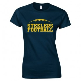 Teeside Steelers - Women's Fit Laces Logo T-Shirt