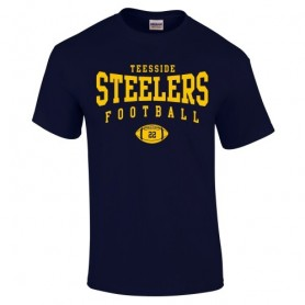 Teeside Steelers - Custom Ball Logo T-Shirt 2