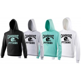Cambridge Pythons - Custom Helmet Logo Hoodie