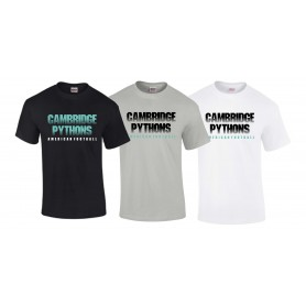 Cambridge Pythons - Cambridge Pythons Text T-Shirt