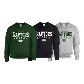 Jurassic Coast Raptors - Custom Ball 2 Logo Sweatshirt