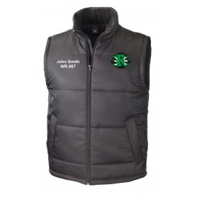 Jurassic Coast Raptors - Custom Embroidered Bodywarmer